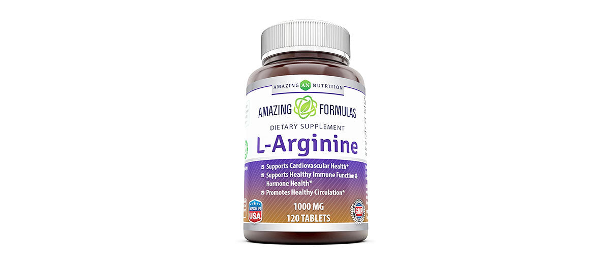 Best Amino Acid Arginine HCL Supplements for Women & Men by Amazing Nutrition