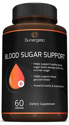 Best Blood Sugar Support Supplement by Sunergetic
