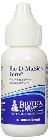 Bio-D-Mulsion Forte Vitamin D 2,000 IU by Biotics Research