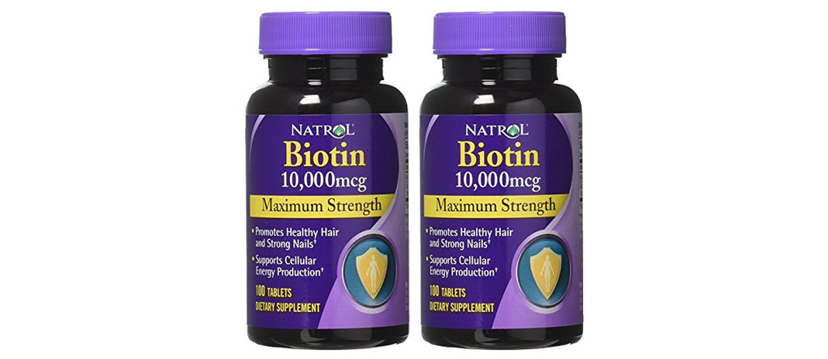 Biotin Maximum Strength Tablets by Natrol