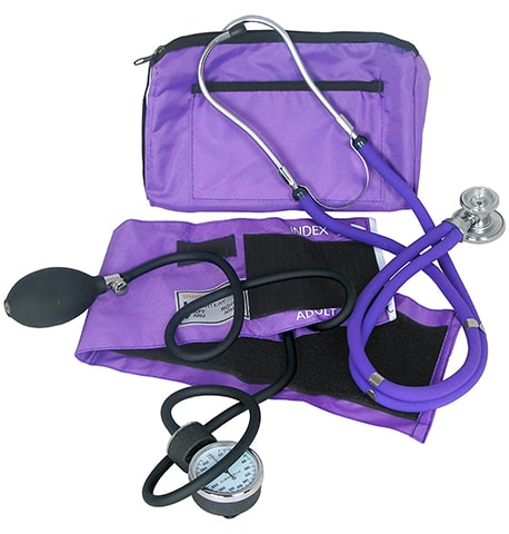 Blood Pressure and Stethoscope Kit by Dixie EMS