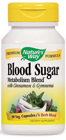 Blood Sugar Metabolism Blend by Nature's Way
