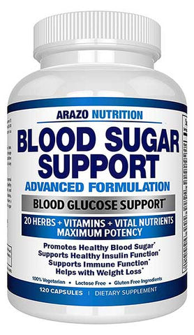 Blood Sugar Support Supplement by Arazo Nutrition