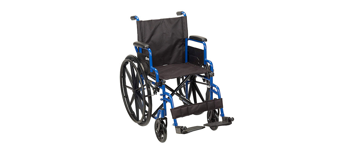 Blue Streak Wheelchair by Drive Medical