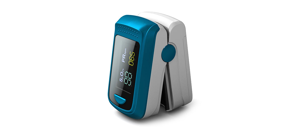 Bluetooth Fingertip Pulse Oximeter by HealthTree