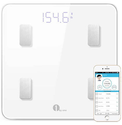 Bluetooth Body Fat Scale by 1byone