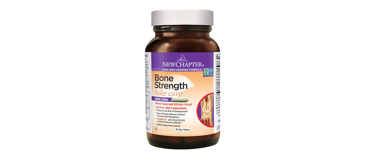 Bone Strength Supplement by New Chapter