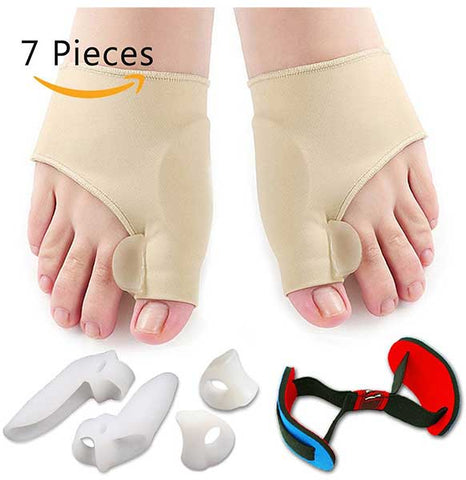 Bunion Corrector and Protector Sleeves Kit by Flyen