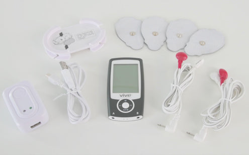 What's in the box of tens unit