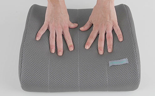 Hands on support pillow