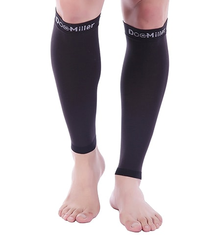 Calf Compression Sleeves by Doc Miller