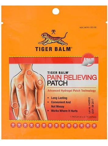 Case of Pain Relieving Patches by Tiger Balm