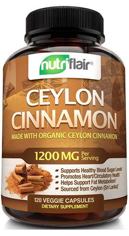 Ceylon Cinnamon for Healthy Blood Sugar by NutriFlair
