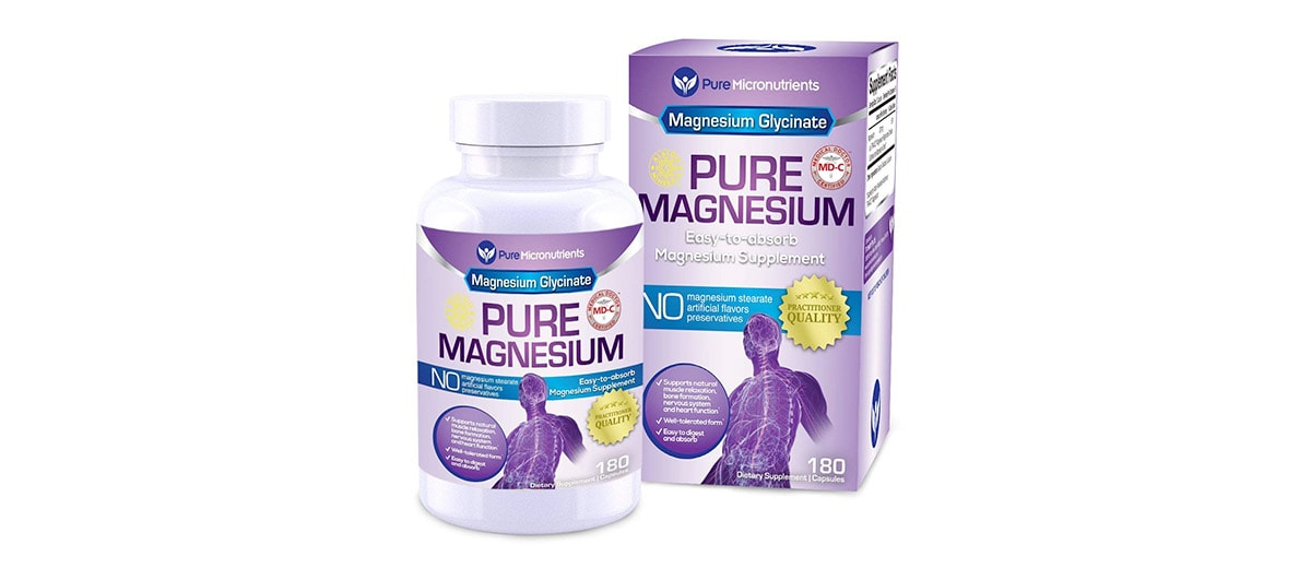 Chelated Magnesium Glycinate 200mg by Pure Micronutrients