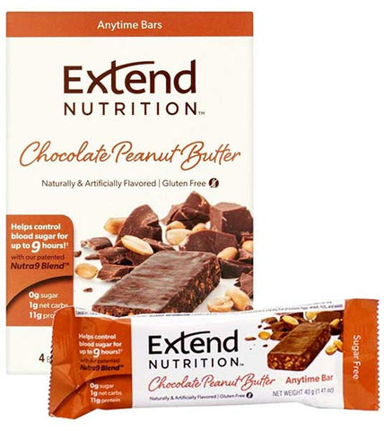 Chocolate Peanut Butter Bar by Extend