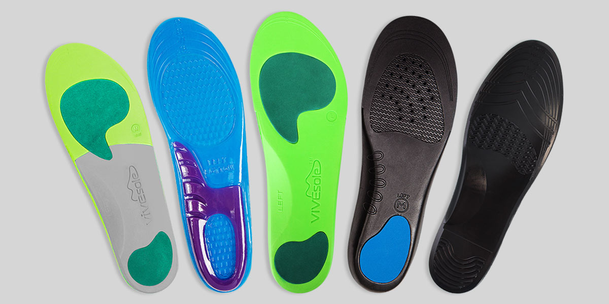 16f53e3413 Choosing the Best Insoles - What's The Difference? - Vive Health