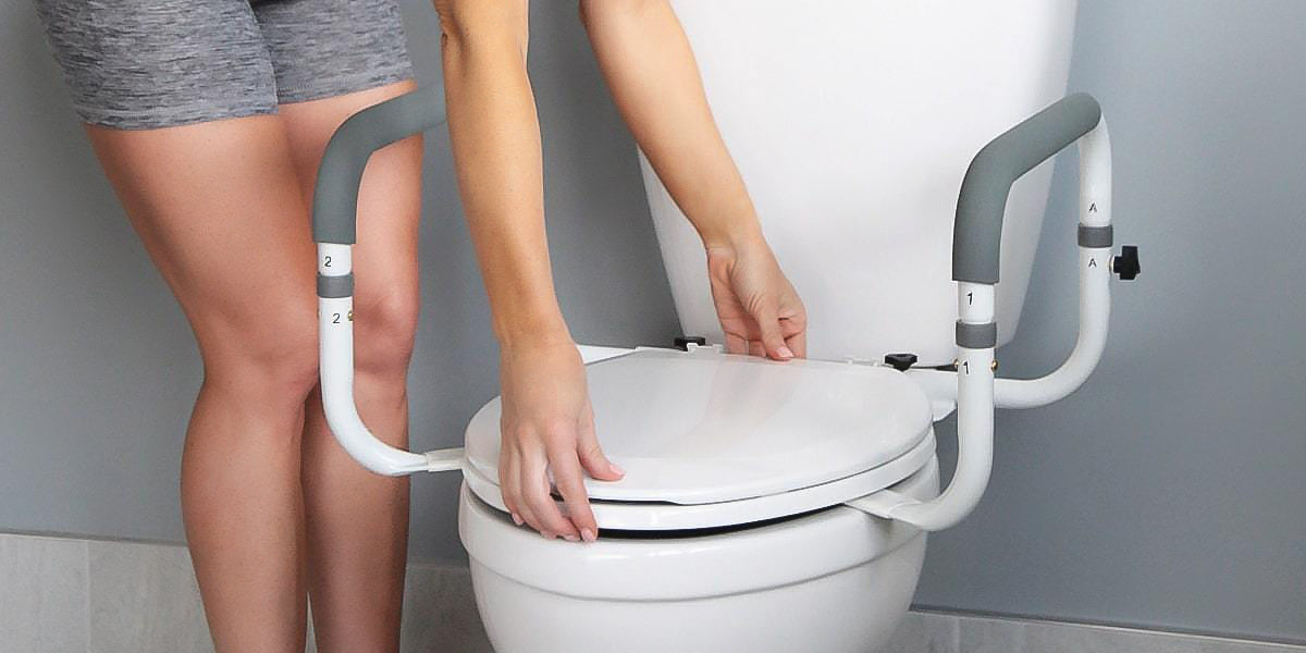 Choosing The Best Raised Toilet Seat Or Safety Rails Vive Health