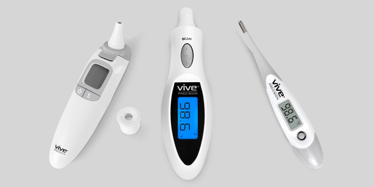 Dual, ear and oral digital thermometer