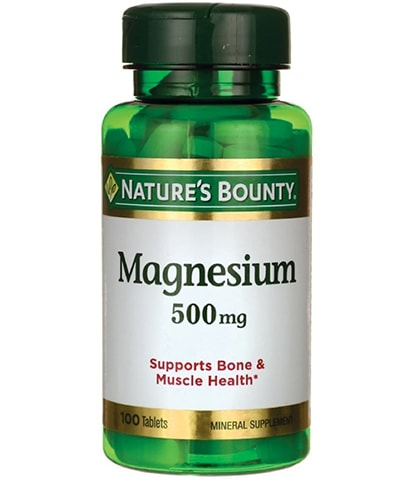 Coated Magnesium Supplement by Nature's Bounty