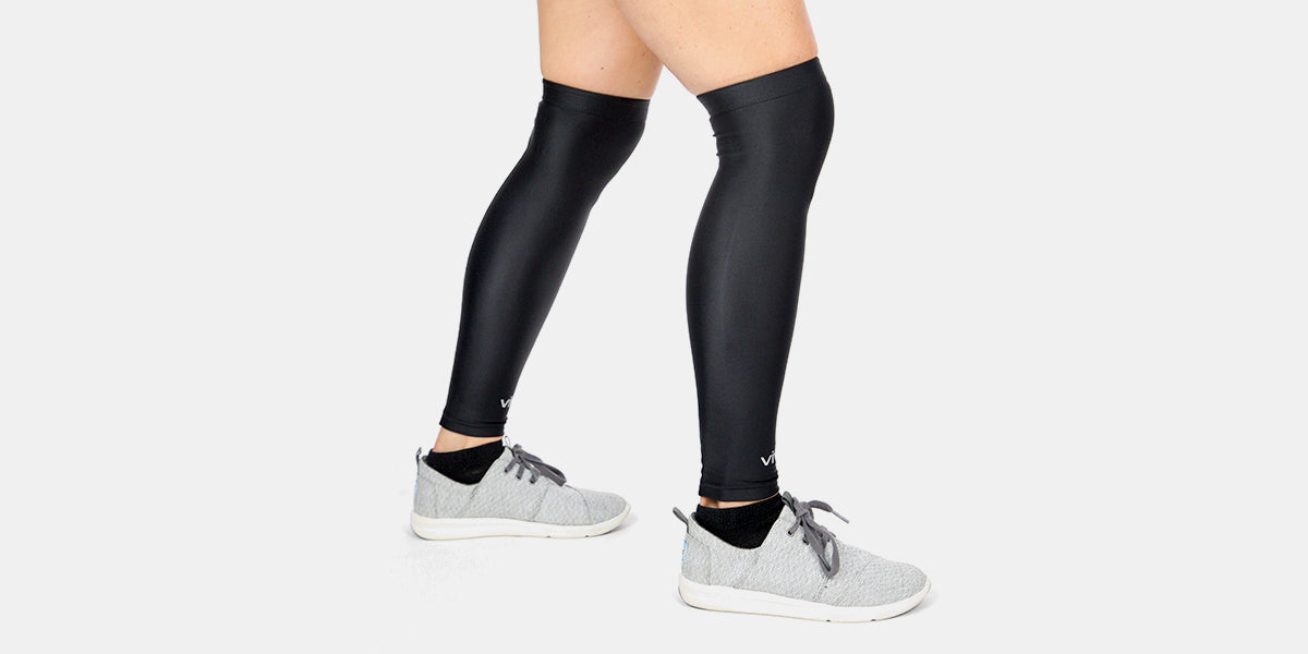 Compression Knee Sleeves (Pair) by Vive
