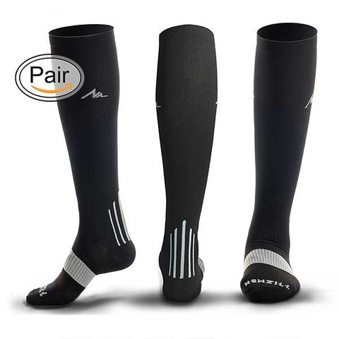 Compression Socks (20-30mmHg) for Men & Women by NEWZILL