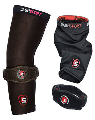 Copper Compression Elbow Sleeve & Band by DashSport