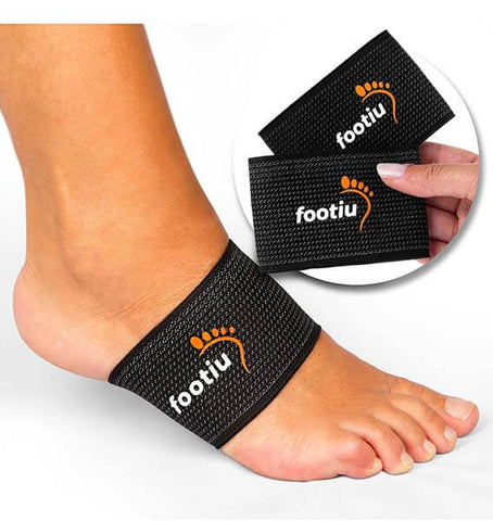 Copper Arch Support Brace (Pair) for Flat Feet by FOOTIU