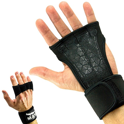 Cross Training Gloves with Wrist Support by Mava Sports