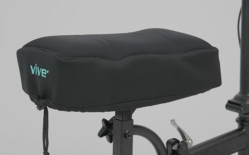 Memory foam knee scooter pad
