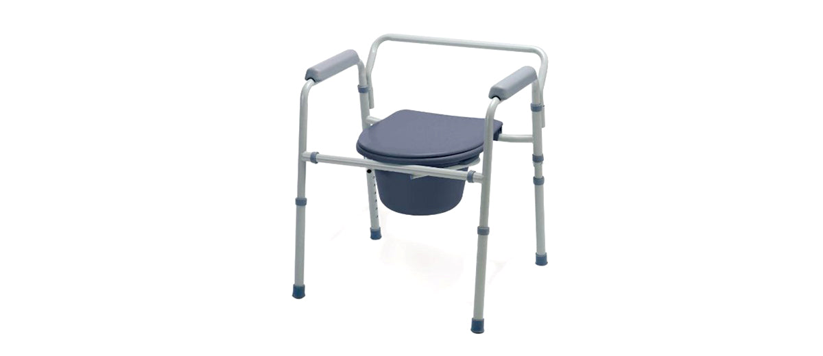 Deluxe Bedside Commode by Medline