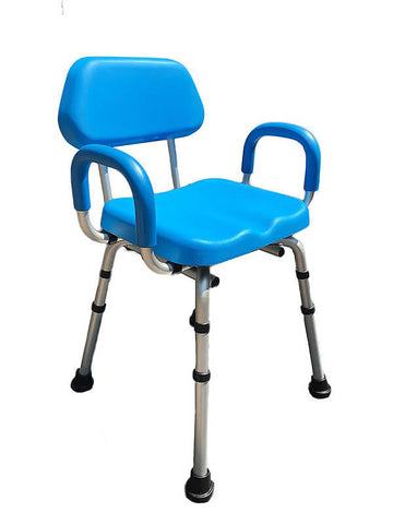 Deluxe Padded Shower Chair by Platinum Health