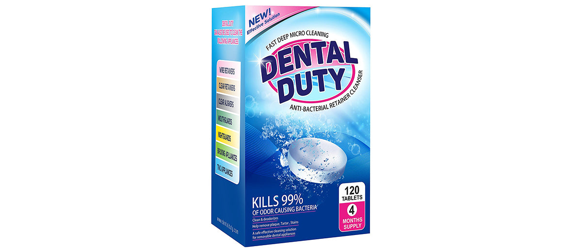 Dental Duty Retainer and Denture Cleaner by Dental Duty