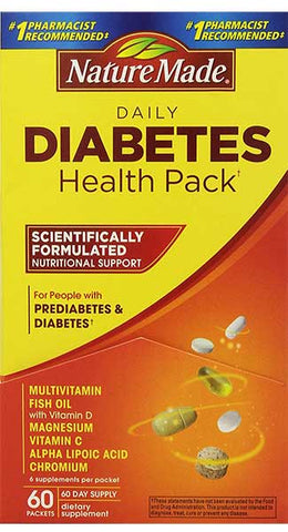 Diabetes Health Pack by Nature Made
