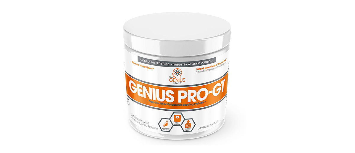 Digestive Probiotic Supplement by The Genius Brand