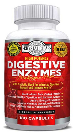 Digestive Enzymes Probiotics for Better Digestion by Crystal Clear Solutions