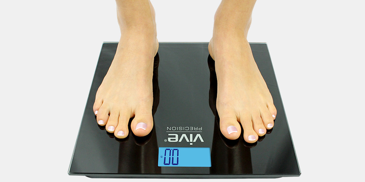 Digital Bathroom Scale by Vive Precision