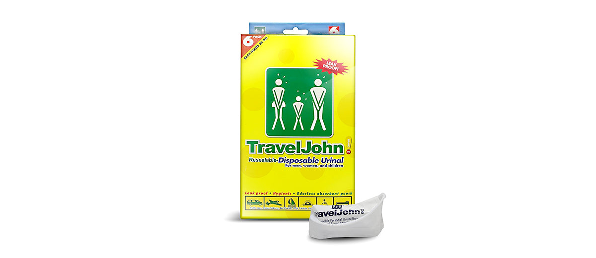 Disposable Urinal by Travel John