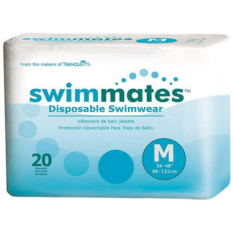 Disposable Adult Swim Diapers by Swimmates
