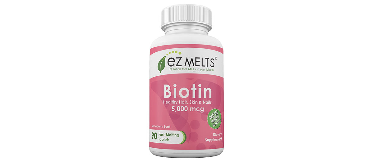 Dissolvable Biotin Tablets by EZ Melts