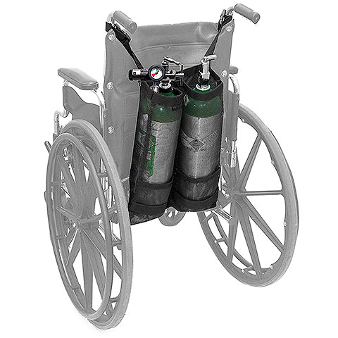 Dual Oxygen Cylinder Bag for Wheelchairs by AdirMed