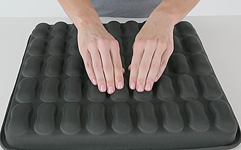 Pressing max gel seat cushion