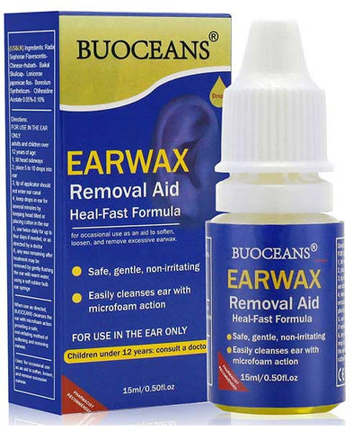 Ear Wax Removal Aid Drops by BUOCEANS
