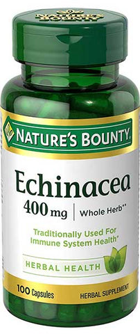 Echinacea Capsules by Nature's Bounty