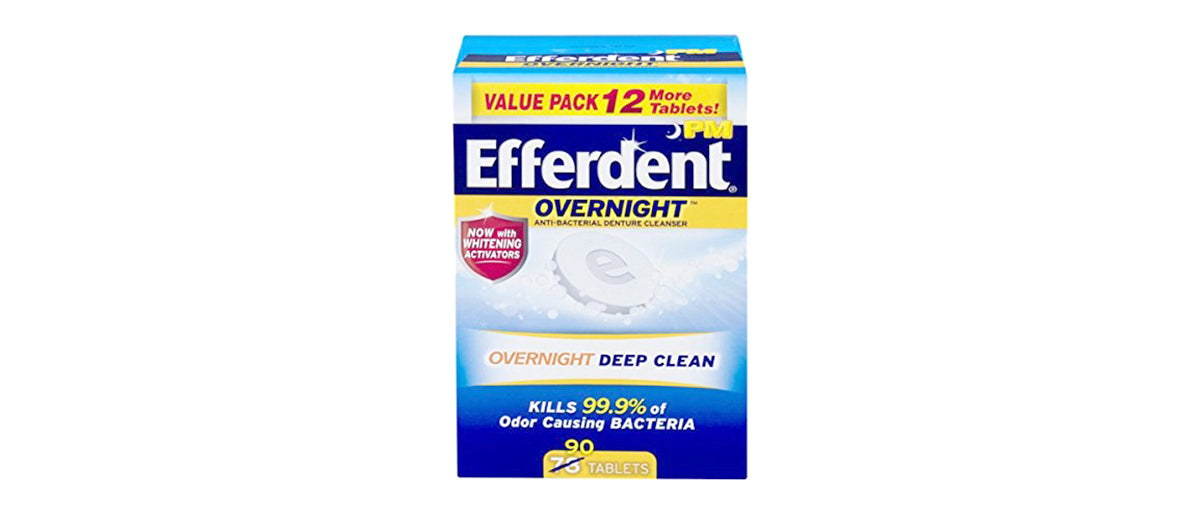 Efferdent PM Overnight by Efferdent