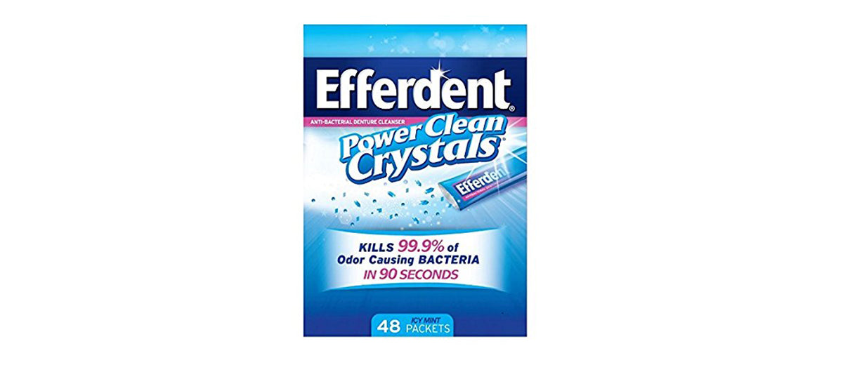Efferdent Power Clean Crystals by Efferdent