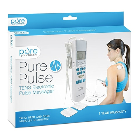 Electronic Pulse Massager by Pure Enrichment