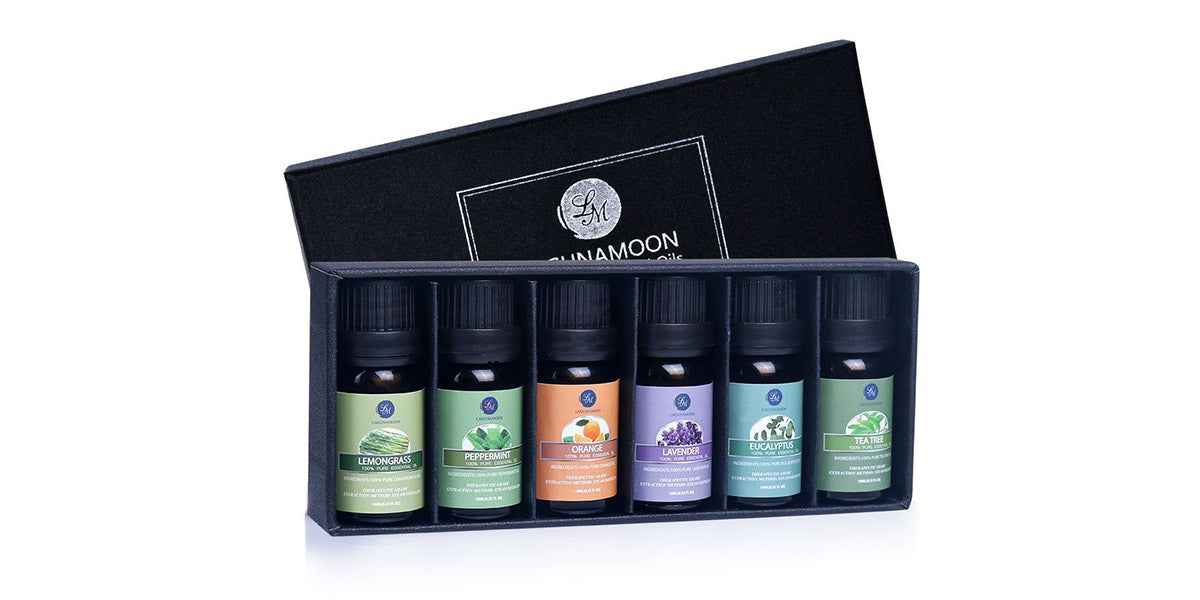 Essential Oils Top 6 Gift Set Pure Essential Oils by Lagunamoon