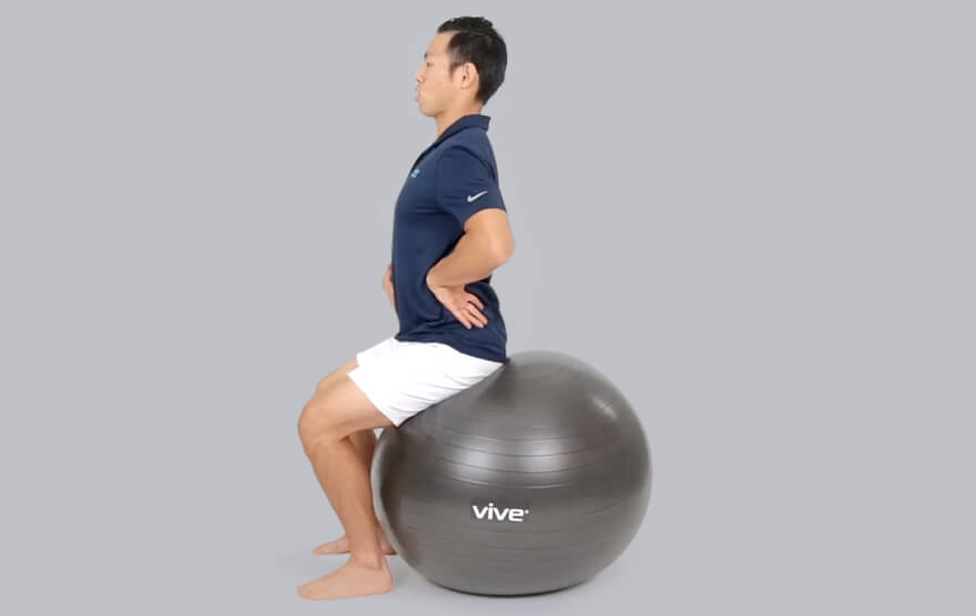 Exercise on Stability Ball