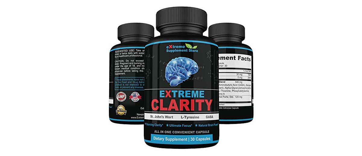 Extreme Clarity Brain Booster Supplements by Extreme Supplement Store