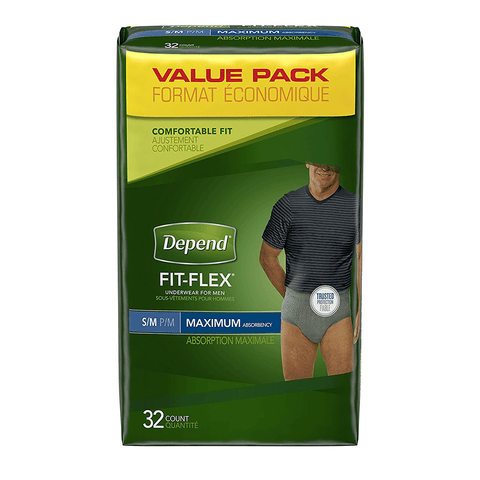 FIT-FLEX Incontinence Underwear for Men by Depend
